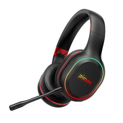 P80S Gaming Headphones Touch Wireless Bluetooth Headphone Gamer Headset Stereo Over Ear Wired With Mic for TV Xbox PC PS4