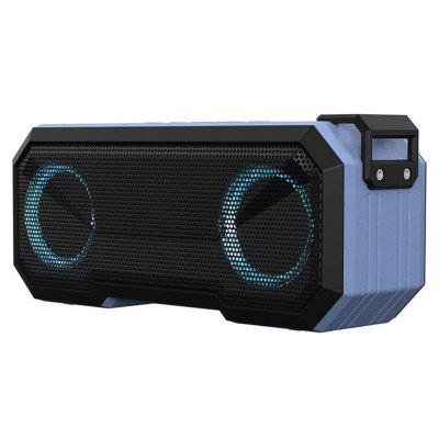 Jeaper X8 Bluetooth Speaker IPX7 Waterproof 12H Battery Subwoofer Led Lights Portable Wireless Loudspeakers Stereo Support TF for phone