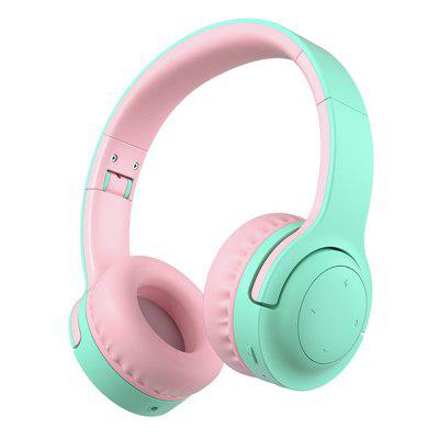 E3 Kids Bluetooth Headphones 14.5hrs Play Time Wireless HeadphonesSafter Comfortable Foldable Stereo Over Ear For Kid  pc laptop phone
