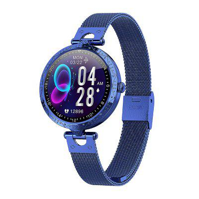 Jeaper Smart Watch AK22 Touch Screen Sports Call Music Bracelet Lady Girl Female Heart Rate Fitness Tracker Band for Android iOS