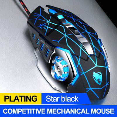 3200dpi 6 button wired pro gaming mouse optical gamer mouse hifi pro gaming headphone headset gaming mouse pad gift Pro Gamer Gaming Mouse 8D 3200DPI Adjustable Wired Optical LED Computer Mice USB Cable Silent Mouse for laptop PC
