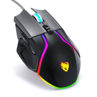 For T-WOLF V9/V11 Gaming Mouse Wired Programmable Light Ergonomic USB Computer Mice RGB Gamer PC 8 Button for