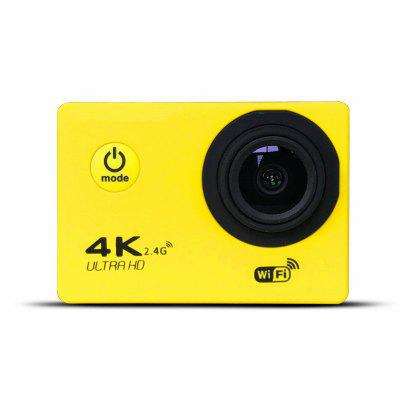 Фото - 4K WiFi Sports Action Camera Ultra HD Waterproof DV Camcorder  Wide Angle rich action camera ultra hd 4k 30fps 12mp wifi ipx8 waterproof 45m built in gyro external microphone sports camera