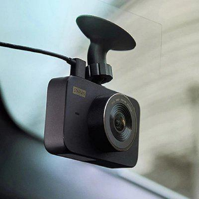 Original Xiaomi 1S Car DVR Camera Video Recorder 140 Degrees Wide Angle 3.0 inch IPS Screen - Black China None Image