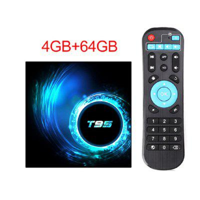 Free Shipping 2020 NEW TV Box Android 10.0 Netflix Youtube HD 6K Android TV Box Google Voice Assistant Smart TV Box Android 10 T95 Image