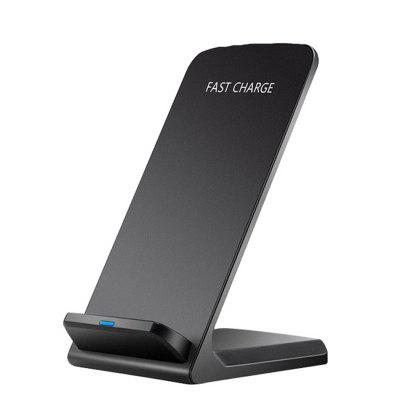 SMM Q740 10W QI Wireless Charger Quick Charge 2.0 Fast Charging for iPhone 8 10 X XR Samsung S10 S7 S8 S9 2-Coils Stand 5V/2A & 9V/1.67A