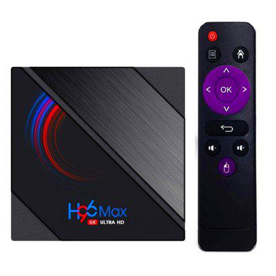 H96 MAX H616 Android 10 TV Box 6K 3D Youtube Media Player 2.4G/5G Wifi 4G 64G Quad Core Smart Lemfo