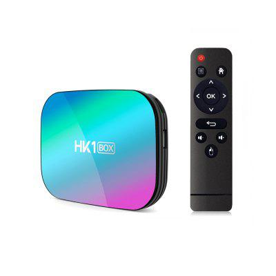 Android 9.0 TV Box Smart HK1 BOX Amlogic S905X3 2.4G/5G Dual Wifi AC BT4.0 LAN 1000M 8K Set Top HK1BOX 4GB VS MAX X96 H96