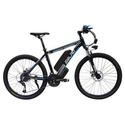Smlro C6 26inch Electric Mountain Bike 1000W Bicycle with Removable 48V 13AN Lithium-Ion Battery 21 Speed  E-BIKE