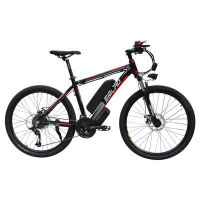Smlro C6 26inch Electric Mountain Bike 1000W Electric Bicycle with Removable 48V 13AN Lithium-Ion Battery 21 Speed  E-BIKE Image