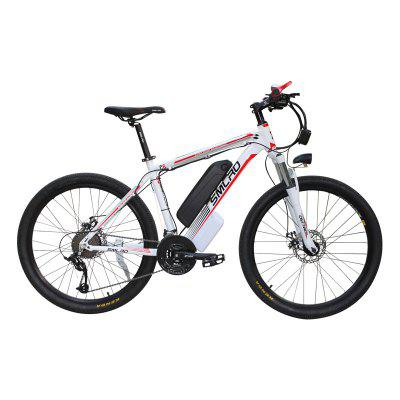 Smlro C6 Electric Mountain Bike  500W 26inch Electric Bicycle with Removable 48V 13Ah Battery 21 Speed Shifter ebike Image