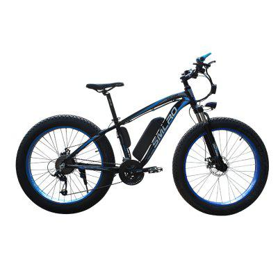 Smlro XDC600  Electric bicycle 4.0Fat tire 21 Speeds 26 Inch 48V 500W  Electric Bike SHIMANO speed E-Bike Image