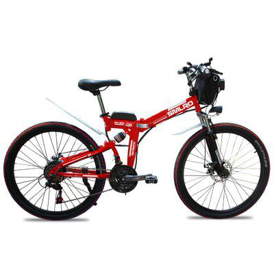 Smlro MX300 Shimano 21 Speed 500W 48V 13AH Electric Bicycle 26 inch Wheel Folding Electric Bike High Quality Fashion E-Bike Image