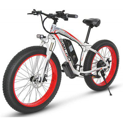Smlro XDC600 1000W Powerful Electric Bicycle 26 Inch Electric Mountain Bike for Adult 35km/h 13AH Battery Ebike Snow e-bike 21 Speed Image