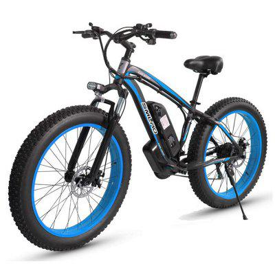 Smlro XDC600 1000W Powerful Electric Bicycle 26 Inch Mountain Bike for Adult 35km/h 13AH Battery Ebike Snow e-bike 21 Speed