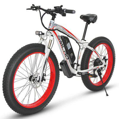 SMLRO XDC600 1000W Powerful Electric Bicycle 26 Inch Electric Mountain Bike 17.5an Samsung battery 31 MPH 75+ Miles Ebike Snow Bike 4.0Fat Tire E Bike Image