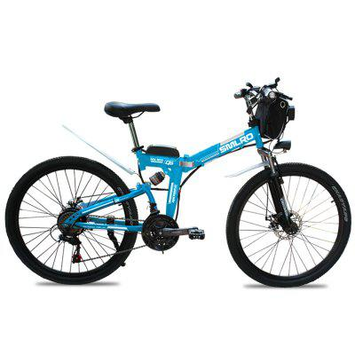 Smlro MX300 Shimano 21 Speed 500W 48V 13AH Electric Bicycle 26 inch Wheel Folding Bike High Quality Fashion E-Bike