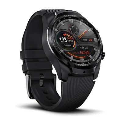 TicWatch Pro 4G/LTE EU-Vodafone 1GB RAM Dual Screen Sleep Tracking Swim-Ready IP68 Waterproof NFC Google Pay Long Battery Life Image