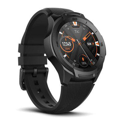 TicWatch S2 Wear OS Android Wear Smartwatch Bluetooth GPS Sport Watch for Men 5ATM Waterproof for IOS&Android Long Battery Life Image