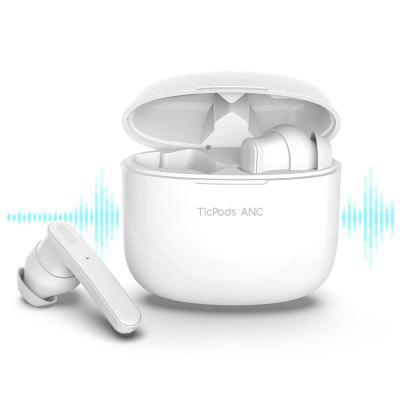 Ticpods ANC True Wireless Earbuds Active Noise Cancellation Bluetooth IPX5 Waterproof Up to 21 Hours Battery Life