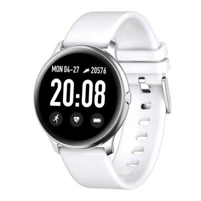 ARMOON KW19 Women Smart Watch Fitness Tracker Heart Rate Blood Pressure Smartwatches Men Sleep Monitor Sportwatch for  IOS  Android