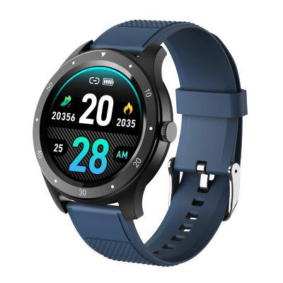 ARMOON Smart Watch S6 Touch Blood Pressure Band Heart Rate Fitness Tracker Color Men Women Sports Call Message Round Sport Band for Android IOS