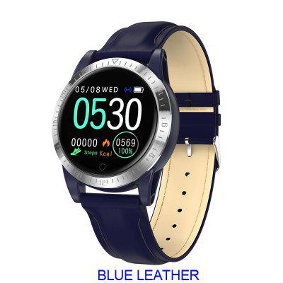 ARMOON Smartwatch AK19 Waterproof Adult Heart Rate Blood-Pressure Bracelet Fitness-Tracker Sleep Monitor Round Iphone Huawei Samsung Sports Watch