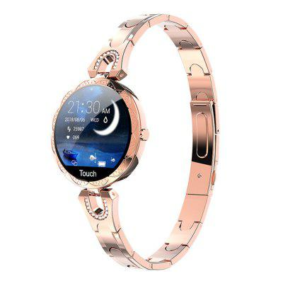 ARMOON Stylish Women Lady Smart Fitness Bracelet AK15 Heart Rate Fitness Tracker Smartwatch Waterproof  Call Message Alarm IOS Android Gilr Band