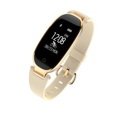 ARMOON Women Fashion Smart Watch S3 Sport Sleep Monitor Fitness Tracker Ios Android Band Heart Rate Waterproof  Girl Lady  Smart Bracelet