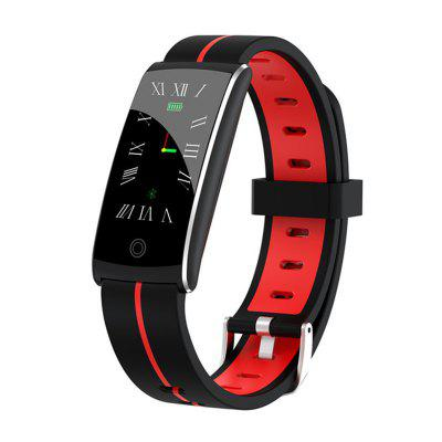 ARMOON Smart Bracelet F10P Heart Rate Blood Pressure Fitness Tracker Men Women Watch Waterproof Color Call Message Activity Sports Band