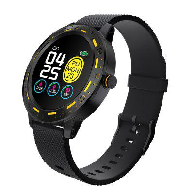 ARMOON Smart Watch S18 Heart Rate Sleep Monitor Blood Pressure Fitness Tracker Waterproof Color Full Touch Sport Round Men Women Band
