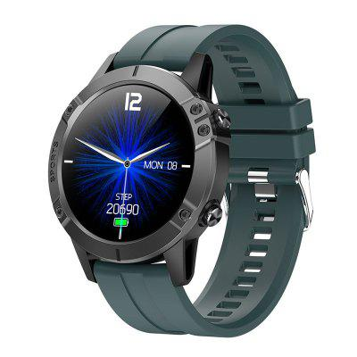 ARMOON Smart Watch T11 Alloy Case Round Touch Sports Music Control Bracelet Heart Rate Monitor Fitness Tracker Color Screen Smartwatch