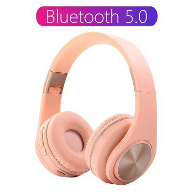 ARMOON  A1 Bluetooth Wireless Headphone Headset Foldable Adjustable Standy time 150Hrs Headphone With HD MIC  Support TF card Earphone For Phone PC