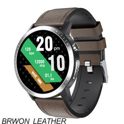 ARMOON Smart Watch RC06 ECG Oxygen Heart Rate Bracelet Sleep Monitor Blood Pressure Fitness Tracker Touch Round Music 1.28 Color Screen