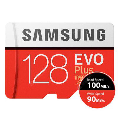 Original Samsung Sdcard with Adapter 128G Class 10 UHS - 3 TF Memory Card SD  100 MB/s Read 90 Write