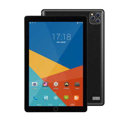 2020 New Tablet 10.1 Inch Android 8.0 Google Play 3G Phone Tablet WiFi Bluetooth GPS 2.5D Tempered Glass 10 Inch Tablet Image