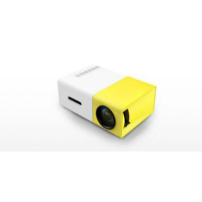 LED Home Office Entertainment YG300 Projector HD 1080P Miniature Mini