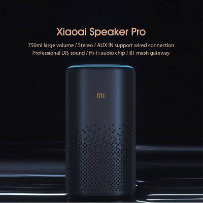 Original Xiaomi XiaoAi Pro Speaker APP Control AI Bluetooth HiFi Audio Wireless Mesh Gateway Stereo Infrared Mi