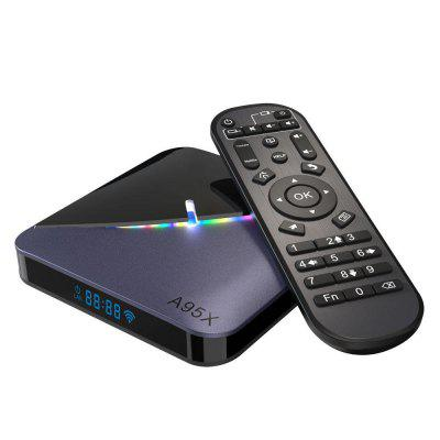 2020 New Tv Box A95X F3 Android 10 5G Version HD4K With 2G Ram 16G Rom WIFI 2 4GHZ Google Asistente Netflix Reproductor - Black Image