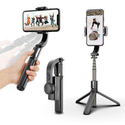 Bluetooth Tripod With Gimbal Handheld Stabilizer for Mobile Phone Adjustable Wireless Video Record Selfie Stander
