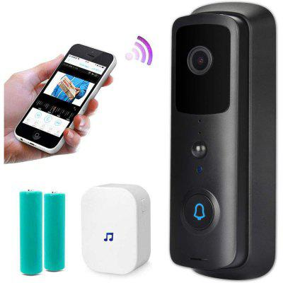 WIFI Doorbell Smart WiFi Video Camera Visual Intercom Night vision IP Door Bell Wireless Home Security 1080P HD Monitor PIR