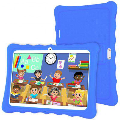 LAMZIEN R3 Kids Tablet 10 Inch Android 8.1 Quad-Core 1.8Ghz 2GB RAM 32GB Storage 1280x800 IPS Display 3G Dual-SIM Pre-Installed Kids Software Image