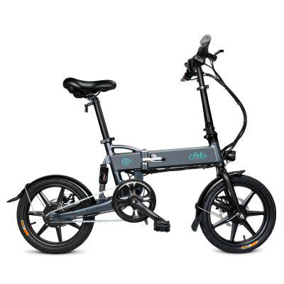 Fiido D2 16 Inch 250W Folding Electric Bicycle 36V 7.8ah Maximum Speed 25km / h Endurance Up To 50km Image