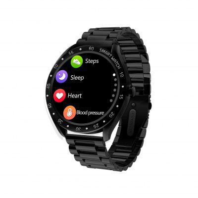Intelligent Watch Smart Bracelet Full Circle Full Touch Large Screen Pedometer Heart Rate Blood Pressure Blood Oxygen Exercise Mode Health Monitoring