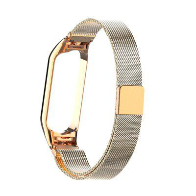 Mi 5 Strap Steel Frame Smart Bracelet Wristband For Xiaomi mi band 5 strap