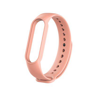 For Xiaomi Band 5 Smart Bracelet Soft silicone Solid color Miband 5 Smartband Fitness Traker Bluetooth Sport Waterproof Smart Band