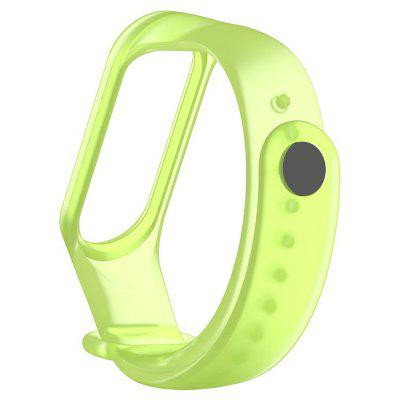 HENG Mi band 3 strap Translucent Strap Soft and Suitable For Mi 3