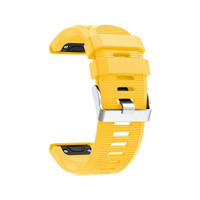 Watch Band for Fenix 5x Garmin Classic Buckle Silicone Wrist Strap