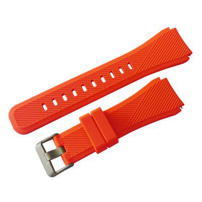 JIE Silicone strap 22mm suitable for Samsung gear s3 twill strap Huami 2S galaxy watch 46mm