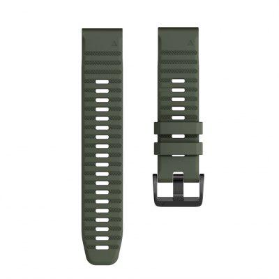 Watch Band for Approach S60 / Fenix 5 / Fenix6/Fenix 5 Plus Garmin Classic Buckle Silicone Wrist Strap